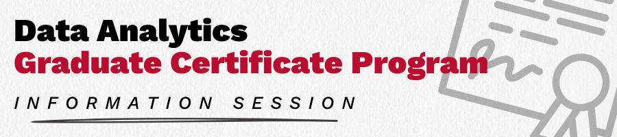 Lake Forest Graduate School of Management Data Analytics Graduate Certificate